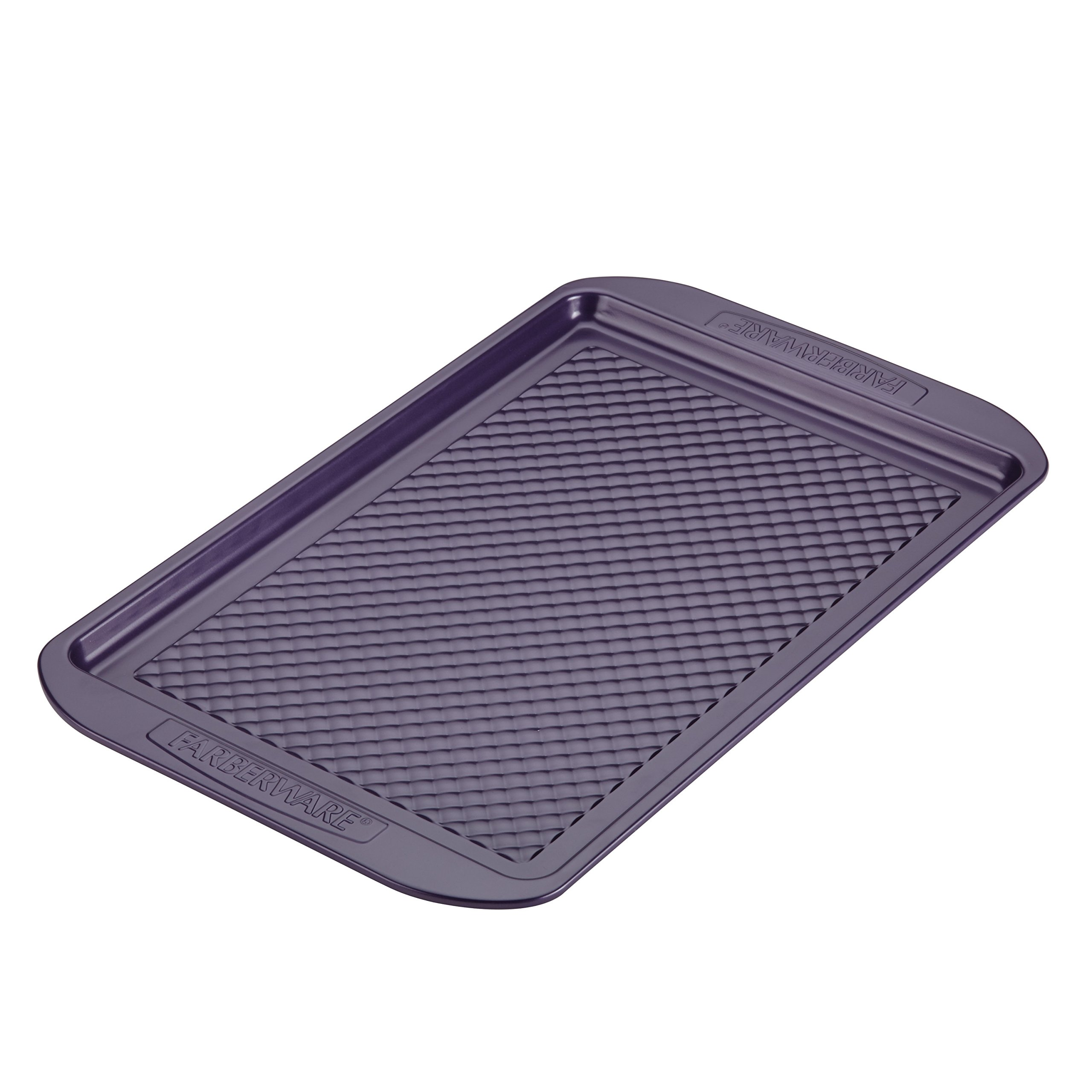 Farberware Nonstick Bakeware, Nonstick Cookie Sheet / Baking Sheet - 11 Inch x 17 Inch, Purple