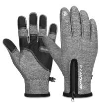 Cevapro Winter Gloves Touchscreen Gloves Cycling Gloves Thicken Warm Gloves for Running Climbing Skiing Riding Cycling Gloves