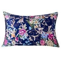 SLPBABY Silk Pillowcase for Hair and Skin with Hidden Zipper Print (Queen, Pattern4)