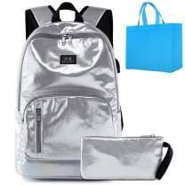 Girls School Backpack Lightweight Kids School Bookbag 16 inch Casual Daypack with USB Port