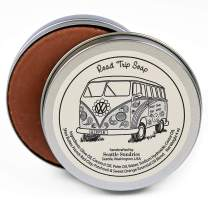 Road Trip Soap-100% Natural & Hand Made. Scented with Essential Oils. One 4 oz Bar in a Convenient Travel Gift Tin. Great For VW Camper Bus Fans.