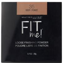 Maybelline New York Fit Me Loose Finishing Powder, Deep, 0.7 oz.