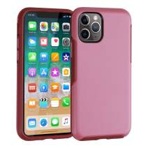 Co-Goldguard Slim Phone Case for iPhone 11 Pro Shockproof Protective Cover Charging Cases Thin Lightweight Sleek Cell Phone Skin Fit for iPhone 11 Pro 5.8 inch Pink