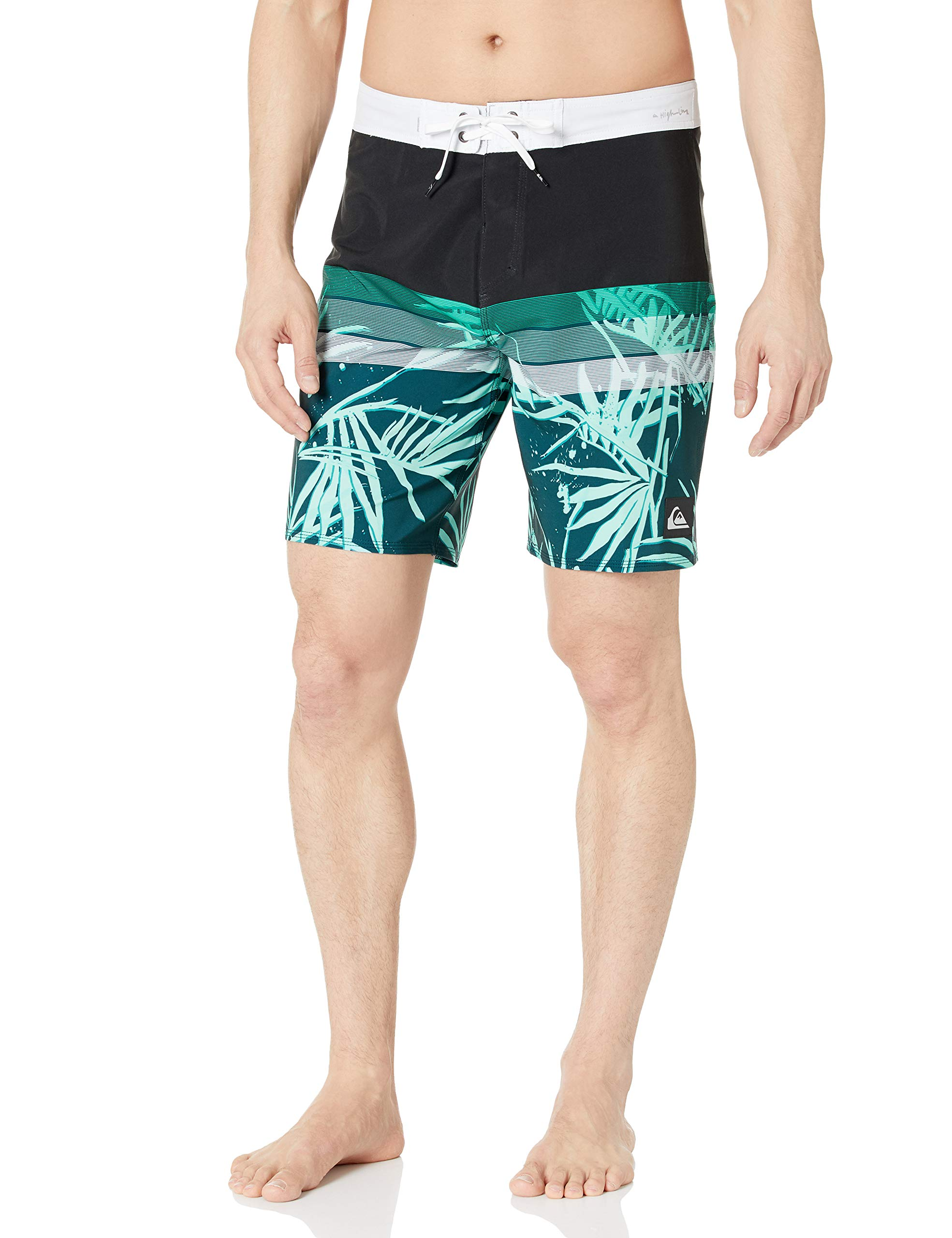 Quiksilver Men's Highline Jungle Vision 19 Boardshort Swim Trunk