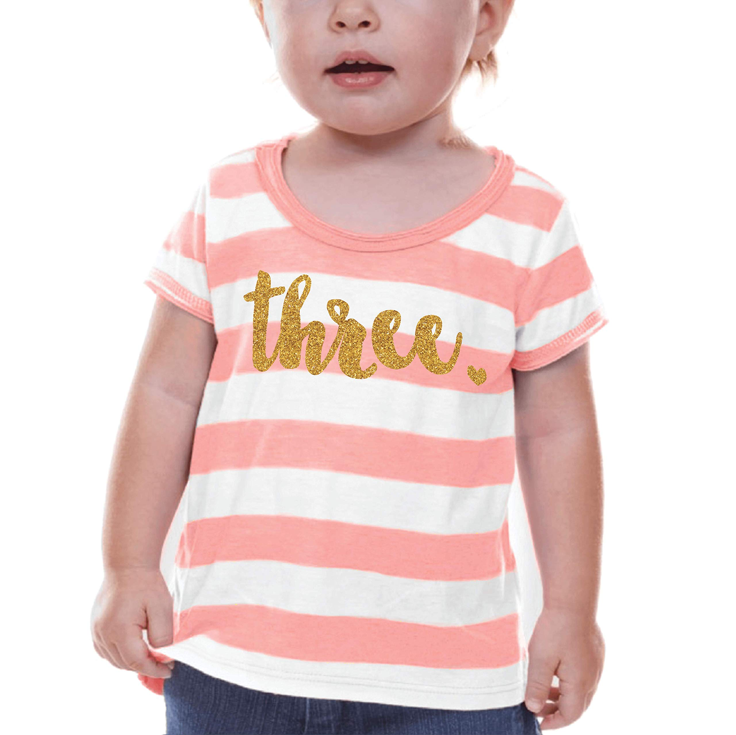 Bump and Beyond Designs Third Birthday Shirt Girl Third Birthday Outfit
