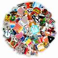 Style-D Cool Stickers for Water Bottles Cool stickers,Waterproof,Aesthetic,Trendy Stickers for Teens, Perfect for Laptop,Phone,Travel Case