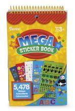 Darice STRK-12T Teacher Style Mega Sprial Bound Sticker Book, Includes 5,478 Stickers