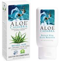 Aloe Cadabra Natural Personal Lube, Organic Best Sex Lubricant Oral Gel for Her, Him & Couples, Unscented, 2.5 oz