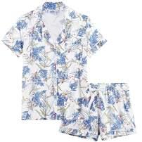 Cherrydew Womens Pajamas Soft Bamboo - PJ Short Sets for Women