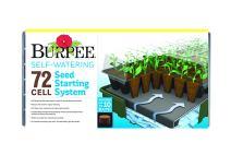 Burpee Self-Watering Seed Starter Tray, 72 Cells