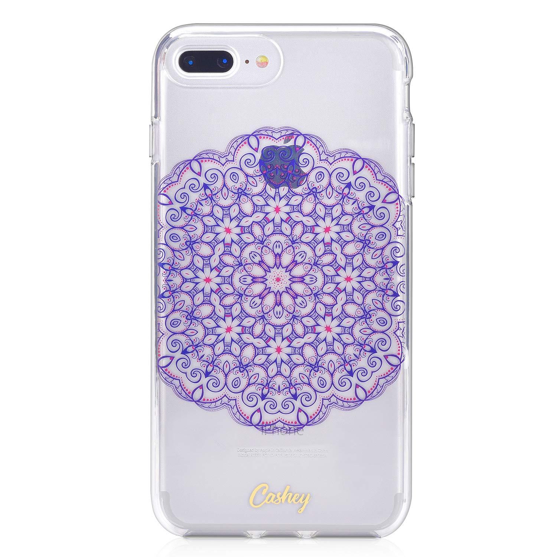 Cashey Colorful Mandala Santosa Design Protective iPhone Case (iPhone 6+/7+/8+)