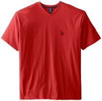 U.S. Polo Assn. Men's Big and Tall Big & Tall V-Neck T-Shirt