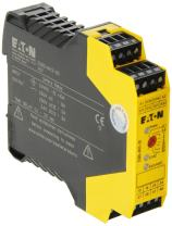 Eaton ESR5-NV3-30 Safety Relay, Dual Channel Main Unit, 2 NO Safety Output, 2 NO Delayed Safety Output, 0.1-30s Output Delay,  NC Signal Output, 24 VDC Control Voltage