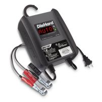 DieHard 71321 3 Amp 6/12V Compact Smart Battery Charger and 6A Maintainer