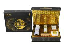 Premium Shoe Cleaning Kit Limited Edition Vault Gift Box - Comes with Shoe Protector Spray, Sneaker Cleaner Solution + Brush, Microfiber Towel, Sneaker Wipes