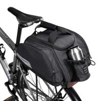 ArcEnCiel Bike Trunk Bag Bicycle Panniers Water-Resistant Rack Rear Seat Carrier Pack with Extended Room