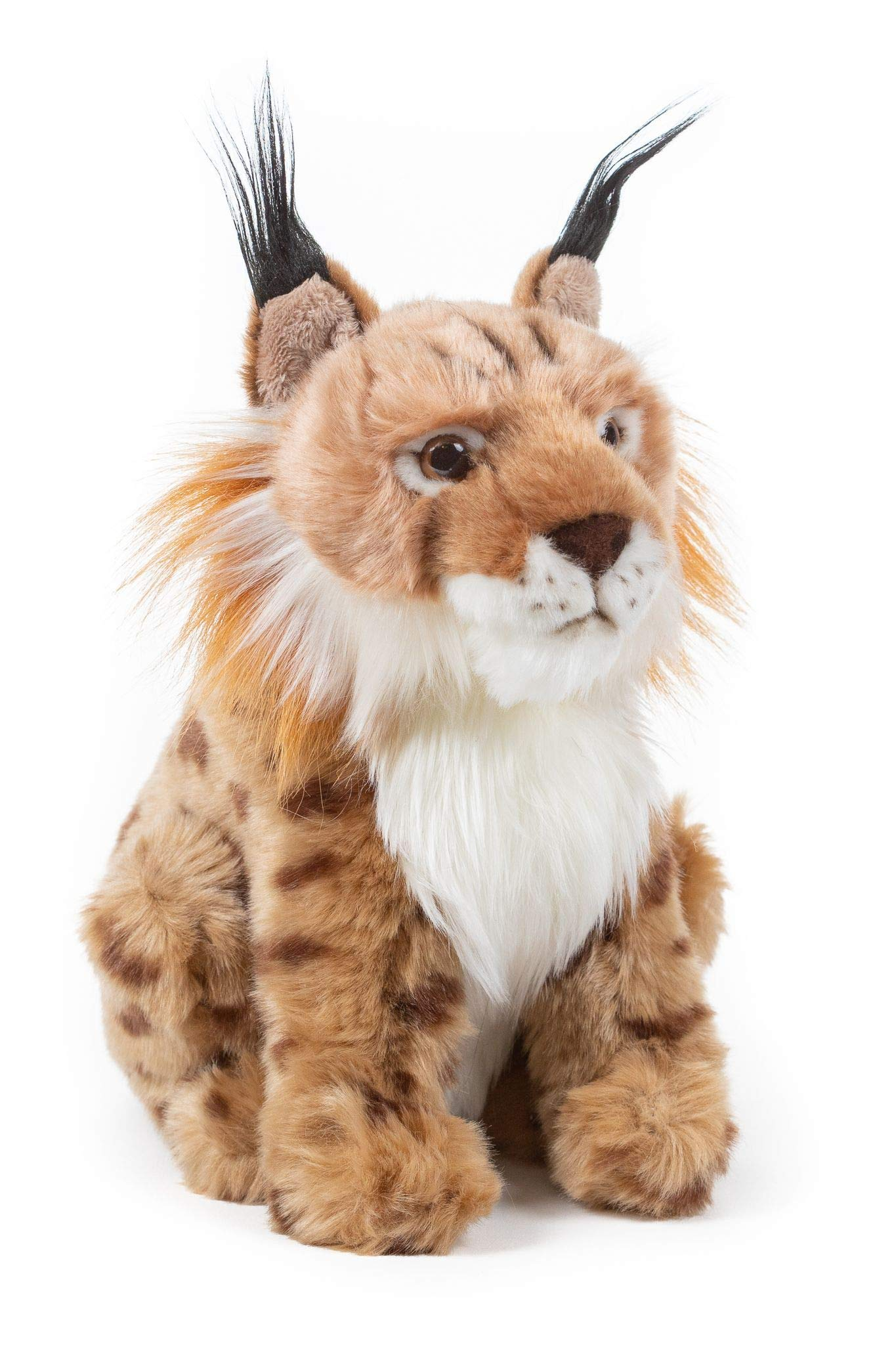 Wildlife Tree 9 Inch Stuffed Lynx Bobcat Plush Floppy Animal Kingdom Collection