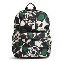 Vera Bradley Women's Lighten Up Grande Laptop Backpack, Imperial Rose, One Size