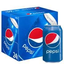 Pepsi Soda, 12 Fl Oz (pack of 24), (Packaging May Vary)