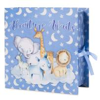Baby Milestone Keepsake Storage Box: Track Treasured Memories - Adventure Awaits