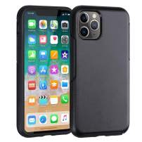 Co-Goldguard Slim Phone Case for iPhone 11 Pro Shockproof Protective Cover Charging Cases Thin Lightweight Sleek Cell Phone Skin Fit for iPhone 11 Pro 5.8 inch Black