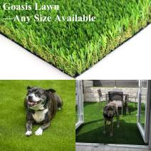 Realistic Artificial Grass Turf - 9FTX9FT(81 Square FT) Indoor Outdoor Garden Lawn Landscape Synthetic Grass Mat