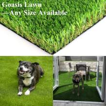 Realistic Artificial Grass Turf - 3FTX30FT(90 Square FT) Indoor Outdoor Garden Lawn Landscape Synthetic Grass Mat