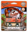 MasterPieces MLB Baltimore Orioles, Real Wood Toy Train, For Ages 3+