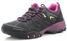 Qomolangma Women's Suede Hiking Shoes Walking Sneakers Outdoor Trail Trekking Shoes