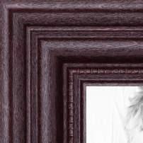 ArtToFrames 4x14 inch Dark Cherry Stain Wood Picture Frame, 2WOM0066-81375-YCHY-4x14