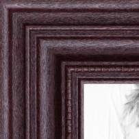 ArtToFrames 4x14 inch Dark Cherry Stain Wood Picture Frame, 2WOM0066-81375-YCHY-4x14