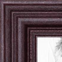 ArtToFrames 20x30 inch Dark Cherry Stain Wood Picture Frame, WOM0066-81375-YCHY-20x30
