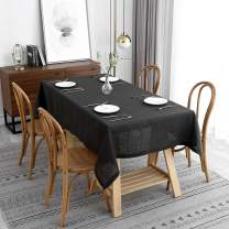 maxmill Lux Faux Linen Tablecloth with Slubby Yarn Textured Weaves Wrinkle Resistant Anti-Shrink Soft Table Cloth for Kitchen Dining Restaurant Tabletop Rectangle 60 x 120 Inch Charcoal