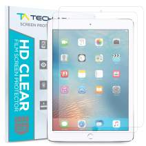 Tech Armor High Definition HD-Clear PET Film Screen Protector (Not Glass) for Apple iPad Air/Air 2 / New iPad 9.7 (2017) [2-Pack]