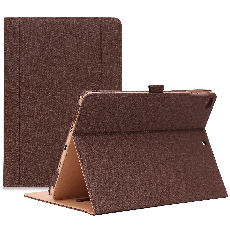 ProCase iPad 9.7 Case 2018/2017 iPad Case - Stand Folio Cover Case for Apple iPad 9.7 inch, Also Fit iPad Air 2 / iPad Air -Chocolate