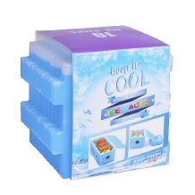 Ice Packs for Lunch Box, Freezer Packs, Reusable Slim Cool Pack for Lunch Bags/Lunch Boxes/Office/Jobsite/Picnics/Camping/Beach, for All Ages Use, Set of 10, Blue