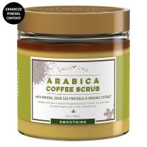 Calily Life Organic Arabica Coffee Scrub with Dead Sea Minerals, 23.28 Oz