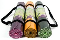 YogiMall 3-in-1 Non Slip Yoga Mat with Carry Strap and Hand Towel Kit – Eco Friendly, Reversible, Thick 6mm, SGS Certified High Density TPE Exercise Mat Set for Yoga, Pilates & Fitness Exercise