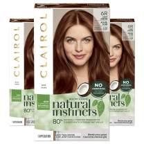 Clairol Natural Instincts Semi-Permanent, 6R Light Auburn, Pack of 3