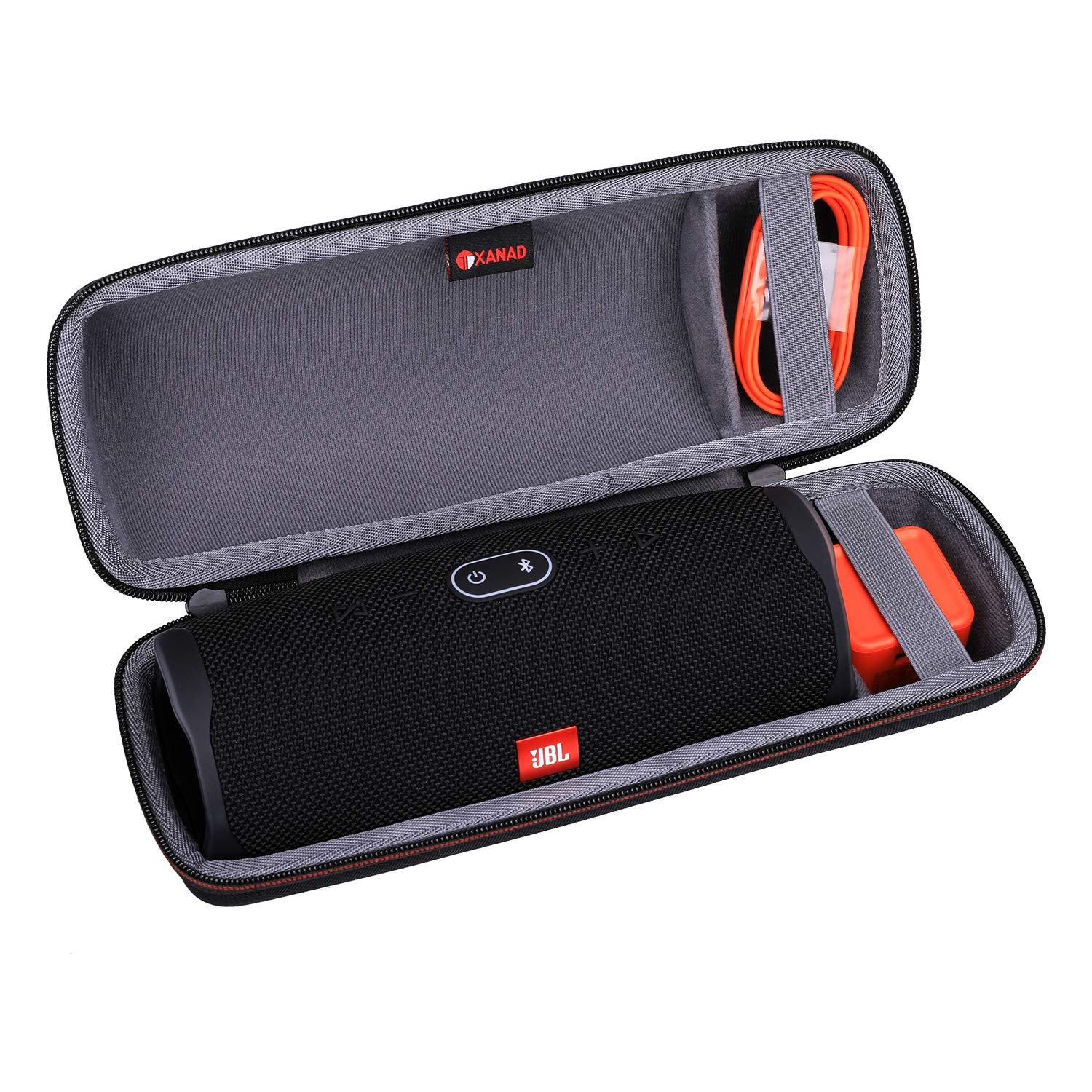 XANAD Hard Case for JBL Charge 4 Speaker - Storage Protective Travel Carrying Bag