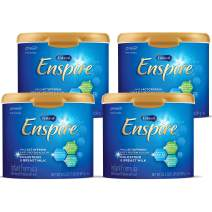 Enfamil Enspire Non-GMO Baby Formula, Milk Powder, 20.5 ounce (Pack of 4) - with MFGM, Lactoferrin (found in Colostrum), Omega 3 DHA, Iron, Probiotics, & Immune Support