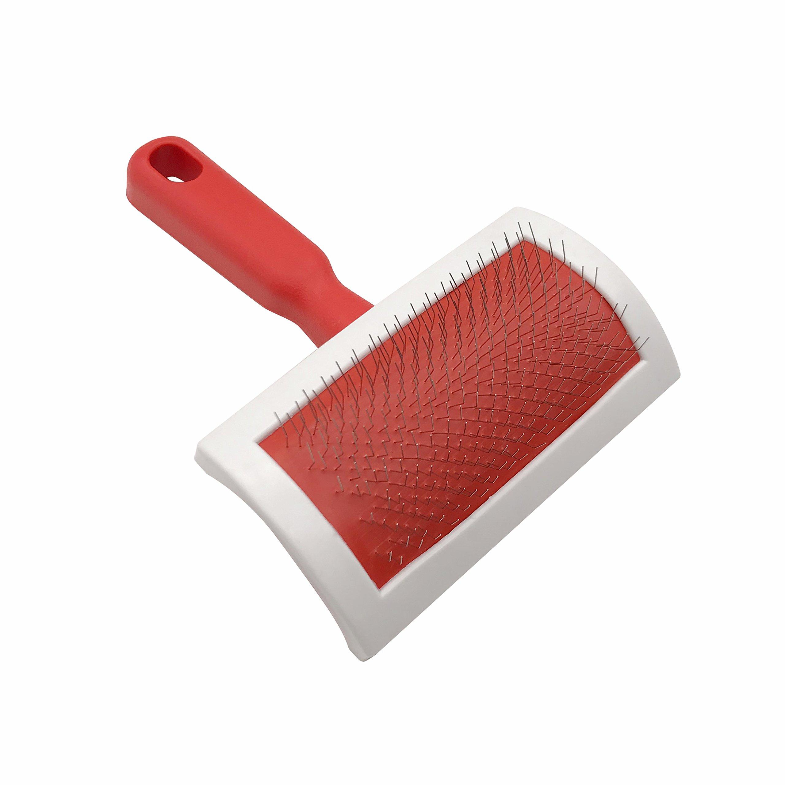 MEQI Fur Brush, Cleaning Brush for Rug, Sheepskin Fur Rug, Coats