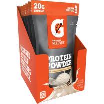 Gatorade Recover Whey Protein Powder, Vanilla (6 single pouches, 20 grams of protein per serving)