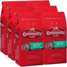 Community Coffee Café Special Decaffeinated Ground Coffee, 12 Ounces (Pack Of 6)