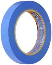 3M 2080 ScotchBlue Painters Tape – 0.75 in. (W) x 180 ft. (L) Masking Tape Roll for Low, Medium Adhesion. Tapes and Adhesives