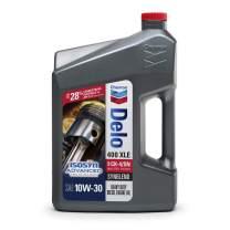 Delo 400 XLE 10W-30 Synblend Motor Oil - 1 Gallon, (Pack of 3)