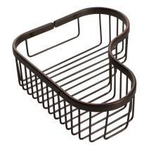 Ginger 505L/ORB Splashables Combination Shower, Oil-Rubbed Bronze, Large Corner Basket