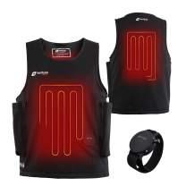Venture Heat Waterproof Battery Heated Vest, 40W Diving Wet Suit with Wrist Remote - Surfing, Snorkling, Scuba Gear