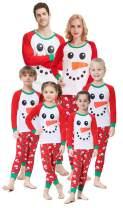 shelry Girls Pajamas for Christmas Children Heart Clothes Toddler Kids Cartoon Sleepwear