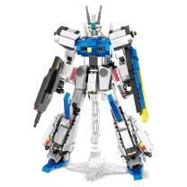 QLT QIAOLETONG Mech Warrior Forseti I Model Mirage Armor Luxury Sets for Kids,Mecha MOC Building Blocks Bricks for 6+ Year Old Teens